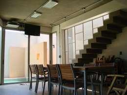 IP - Quincho 1: Comedores de estilo moderno por Módulo 3 arquitectura