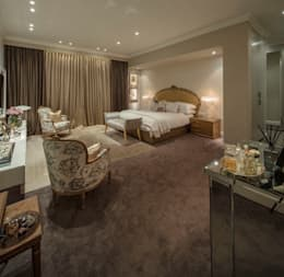 House Parkwood: classic Bedroom by Spegash Interiors