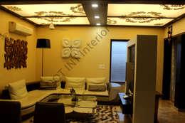 3 BHK house -Interior designs ideas- New Delhi:   by DOT INT