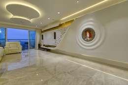 Interior project:  Corridor & hallway by Creative Geometry