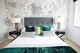 Worts Causeway Show Home: classic Bedroom by Sara Slade Interiors