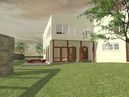 Render del diseño: Casas unifamiliares de estilo  por ARquitectura