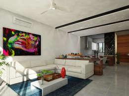 sala:  de estilo  por studio arquitectura