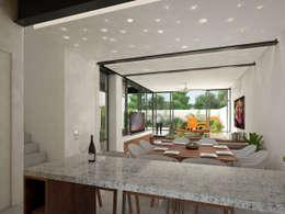cocina:  de estilo  por studio arquitectura