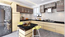 Kitchen Design : modern Kitchen by Idea Associates