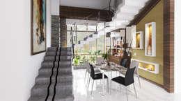 Dining Room: modern Dining room by Idea Associates