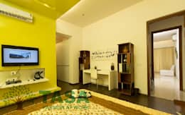 Bedroom and cabinet : modern Bedroom by TASA interior designer