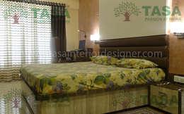Bedroom adn mattres : modern Bedroom by TASA interior designer