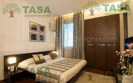 Bedroom design: modern Bedroom by TASA interior designer