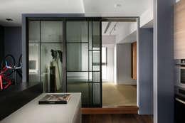 日式和室:  臥室 by 邑田空間設計