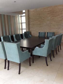 Dining room chairs : classic Dining room by CS DESIGN