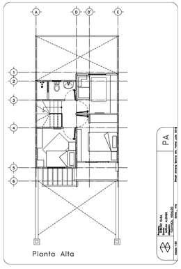 Planta Alta Plano :  de estilo  por 78metrosCuadrados