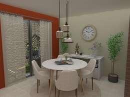 Comedor vista 1:  de estilo  por 78metrosCuadrados
