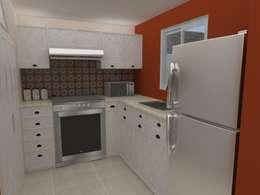 Cocina Integral vista 1:  de estilo  por 78metrosCuadrados
