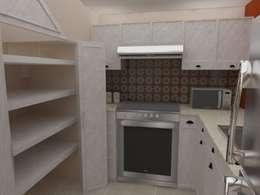 Cocina Integral vista alacena:  de estilo  por 78metrosCuadrados