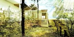 CASA GUASACATE: Casas de estilo moderno por Fstudio Arquitectura