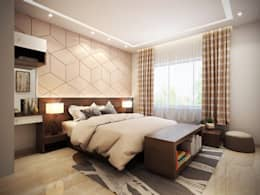 Interiors: modern Bedroom by Spaces Alive