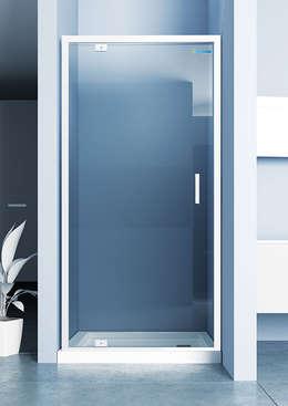 DUŞES KABİN SİSTEMLERİ SAN.TİC.LTD.ŞTİ. – Dip Menteşe Kapı: modern tarz Banyo