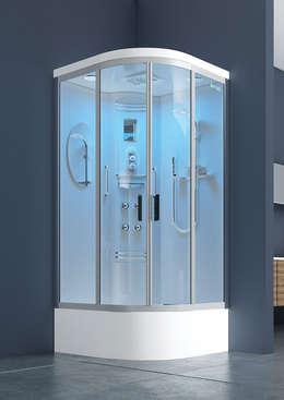 DUŞES KABİN SİSTEMLERİ SAN.TİC.LTD.ŞTİ. – Oval Kompakt Kabin: modern tarz Banyo