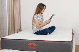 colchon Morfeo, el mejor colchon para dormir bien: Dormitorios de estilo minimalista de Colchón Morfeo