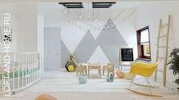 Projekty,  Pokój multimedialny zaprojektowane przez Loft&Home