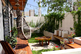 Terraza Privada: Terrazas de estilo  por Taller Veinte