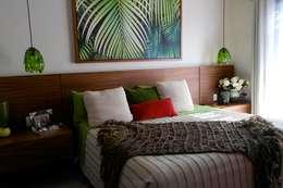 Habitación Visitas: Recámaras de estilo topical por Taller Veinte