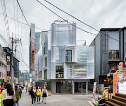 역삼동 근린생활시설 리모델링 – 나풀나풀: 보편적인 건축사사무소의  상업 공간