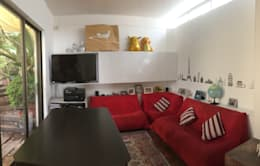 Family Room:  de estilo  por  Arquitectos Roman&Toledo