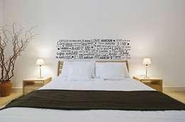Centro de Mantenimiento Integral a Residencias e Inmuebles: Recámaras de estilo moderno por Painter´s oaxaca