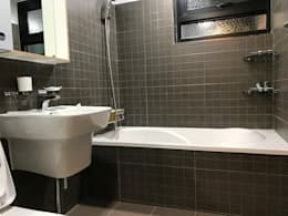 대림골든빌 49평: 디자인K하우징의  화장실