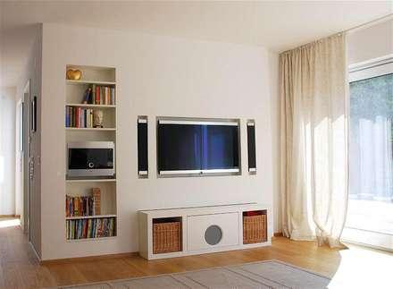 Private Objekte: moderne Wohnzimmer von Peter Rohde Innenarchitektur