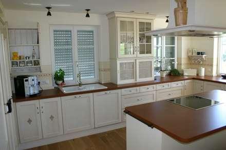 Küchenmöbel freistehend landhausstil  Landhausstil Küchen Ideen, Design und Bilder | homify