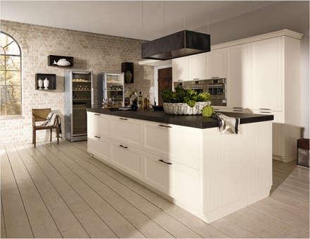Küchenfronten - weiß: rustikale Küche von ALNO AG