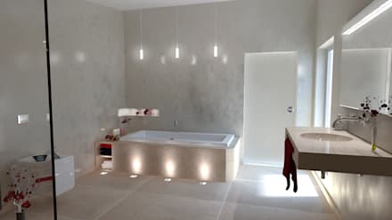 Bäder Und Spa  Einrichtungen Werden Zu Einer Oase Der Ruhe Und Entspannung:  Moderne Badezimmer