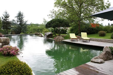 Lagoas de jardins  por Kirchner Garten + Teich GmbH