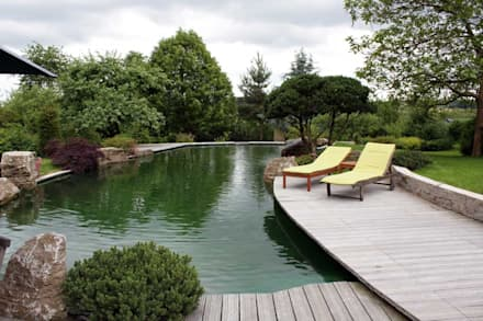 Kolam taman by Kirchner Garten + Teich GmbH