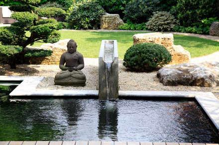 สวน by Kirchner Garten + Teich GmbH