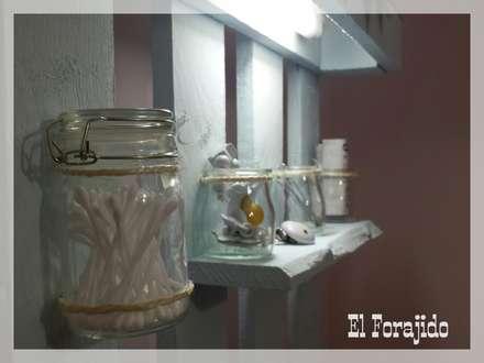 para tener a mano : Dormitorios infantiles de estilo rústico de El forajido
