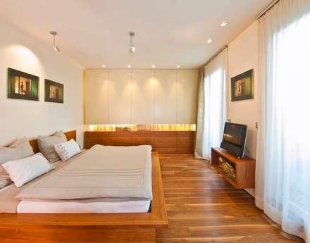 Schlafoase: klassische Schlafzimmer von innenarchitektur-rathke