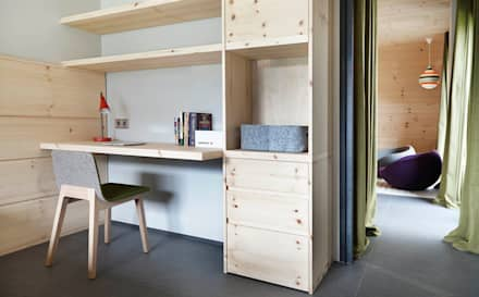 El continente y el contenido: Dormitorios infantiles de estilo escandinavo de Coblonal Arquitectura