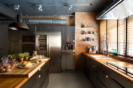 rustic Kitchen by Egue y Seta