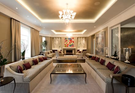 formal reception: classic Living room by Fisher ID