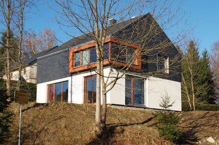 Ferienhaus | Stolte: moderne Häuser von Architekturbüro HOFFMANN