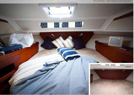 """""""Nimbus"""" Yacht - Gestaltung für Bootsmesse:  Yachten & Jets von Münchner home staging Agentur GESCHKA"""