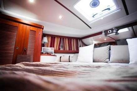 """""""Nimbus"""" Yacht - Gestaltung für Boosmesse:  Yachten & Jets von Münchner home staging Agentur GESCHKA"""