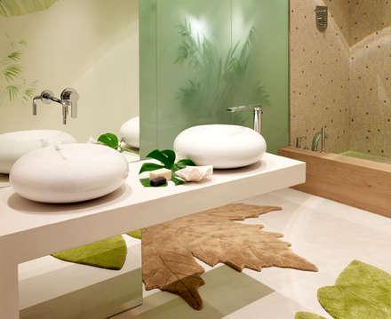 mediterranean Bathroom by BARASONA Diseño y Comunicacion