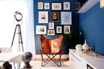 mediterranean Living room by www.rocio-olmo.com