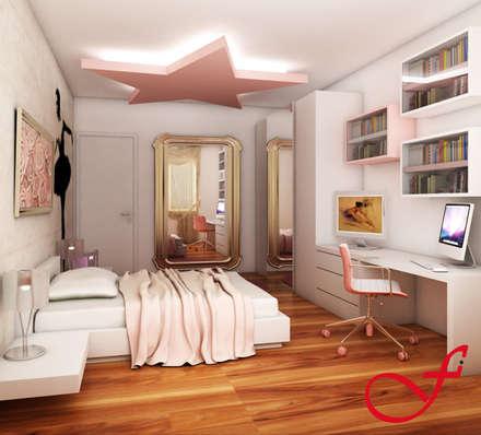 Residenza privata SG: Stanza dei bambini in stile in stile Eclettico di Fenice Interiors