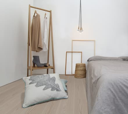 scandinavian bedroom. Clapham Common Flat 2  scandinavian Bedroom by YAM Studios Scandinavian Style Design Ideas Pictures Homify